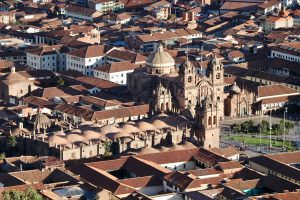 Blick auf Cusco, Peru