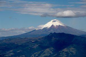 Blick auf den Vulkan Cotopaxi, Quito, Ecuador