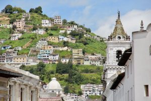 Kirche in Quito, Ecuador