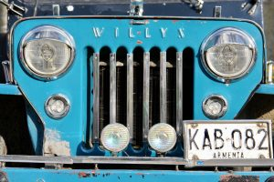 WILLYS-Jeep, Salento, Kolumbien
