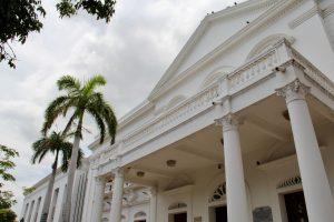Justizpalast in Santa Marta, Kolumbien