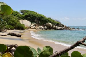 Strand im Tayrona-Nationalpark, Kolumbien