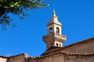 Glockenturm in Palma de Mallorca, Spanien