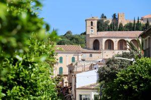 Gasse in Artà, Mallorca, Spanien