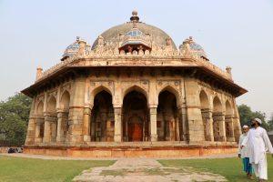 Mausoleum am Humayun-Mausoleum, Delhi, Indien
