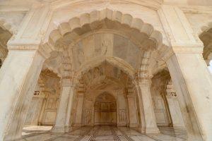 Moschee im Roten Fort, Agra, Indien