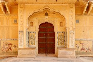 Palast im Fort Nahargarh, Jaipur, Indien