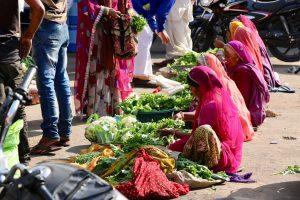 Markt in Pushkar, Indien