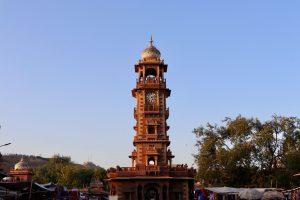 Uhrturm in Jodhpur, Indien