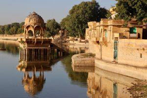 See in Jaisalmer, Indien