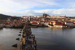 Blick über Prag, Tschechien