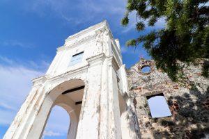 Kirchenruine in Malakka, Malaysia