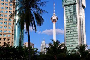 Menara Kuala Lumpur und Petronas Towers, Kuala Lumpur, Malaysia