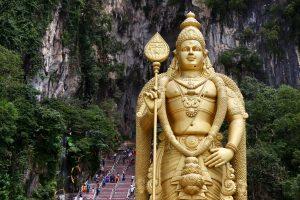 Statue bei den Batu Caves, Malaysia