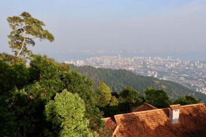 Blick über Penang, Malaysia