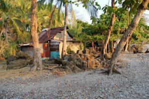 Hütten am Strand in Mal País, Puntarenas, Costa Rica