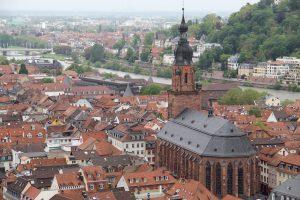 Blick über Heidelberg, Deutschland