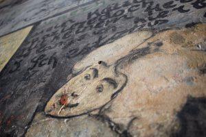 Wandmalereien im Studentenkarzer, Heidelberg, Deutschland