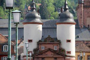 Brückentor, Heidelberg, Deutschland
