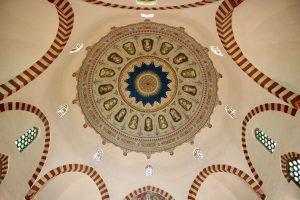 Kuppel der Moschee des Paschas Gasi Kassim, Pécs, Ungarn
