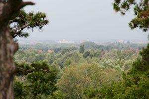 Blick auf Keszthely, Ungarn