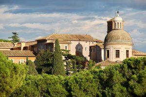 Blick vom Palatin, Rom, Italien