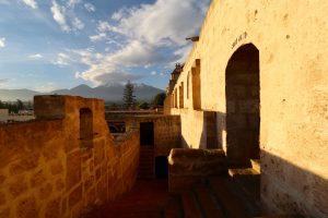 Blick über das Kloster Santa Catalina, Arequipa, Peru
