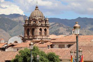 Kirche in Cusco, Peru
