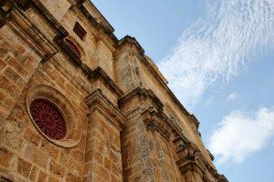 Kirche in Cartagena, Kolumbien