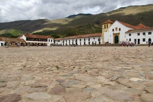 Plaza Mayor, Villa de Leyva, Kolumbien