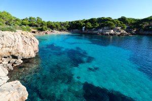 Bucht in Llevant, Mallorca, Spanien