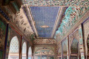 Fresken im Garh-Palast, Bundi, Indien
