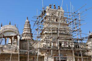 Hindutempel in Pushkar, Indien