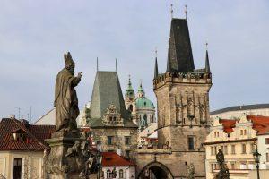 Brückentürme auf der Kleinseite, Prag, Tschechien