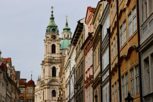 Straße auf der Kleinseite, Prag, Tschechien