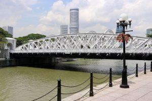 Brücke in Singapur