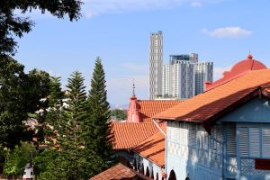 Rathaus (Stadthuys) in Malakka, Malaysia