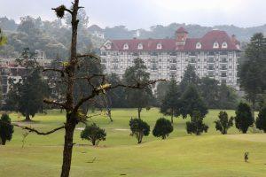 Golfplatz in Tanah Rata, Malaysia