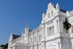 Verwaltungsgebäude in Georgetown, Penang, Malaysia