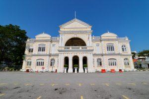 Rathaus von Georgetown, Penang, Malaysia