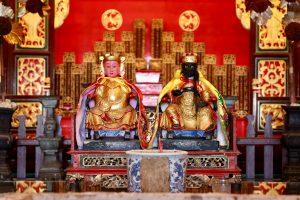 Altar eines Kongsi in Georgetown, Penang, Malaysia