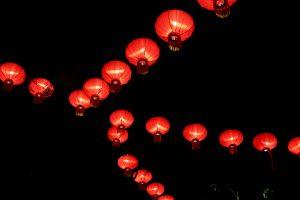 Lampions in Georgetown, Penang, Malaysia