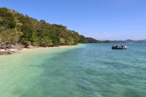 Strand auf Beras Basah, Langkawi, Malaysia