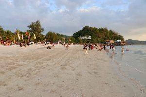 Strand auf Langkawi, Malaysia