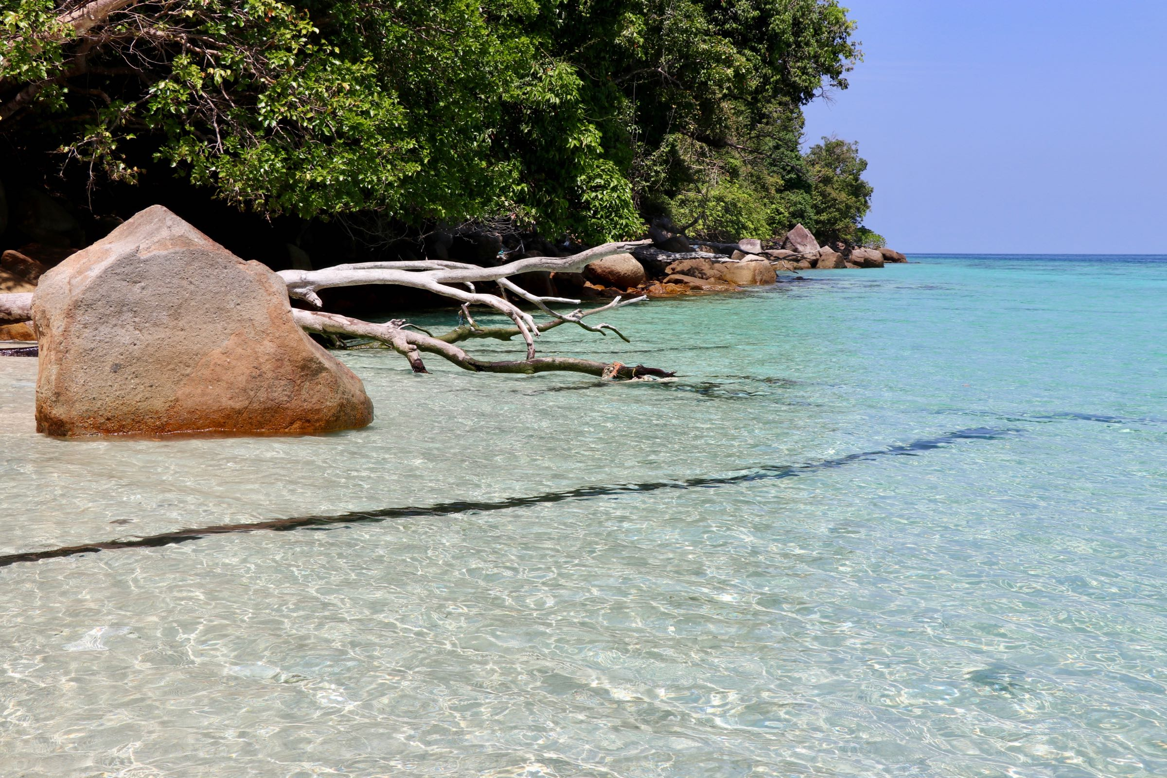 Strand auf Ko Ra Wi, Thailand