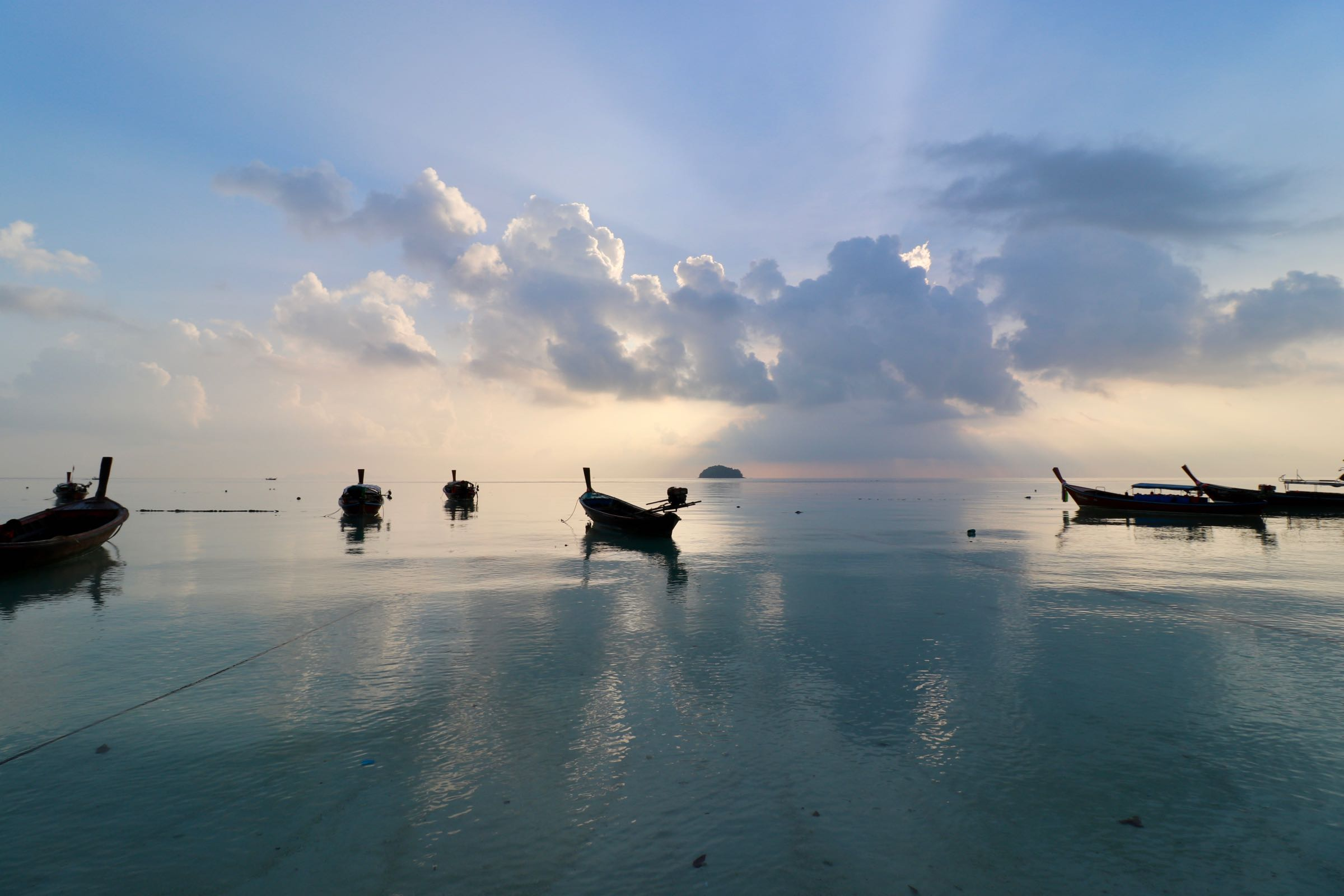 Sonnenaufgang auf Ko Lipe, Thailand
