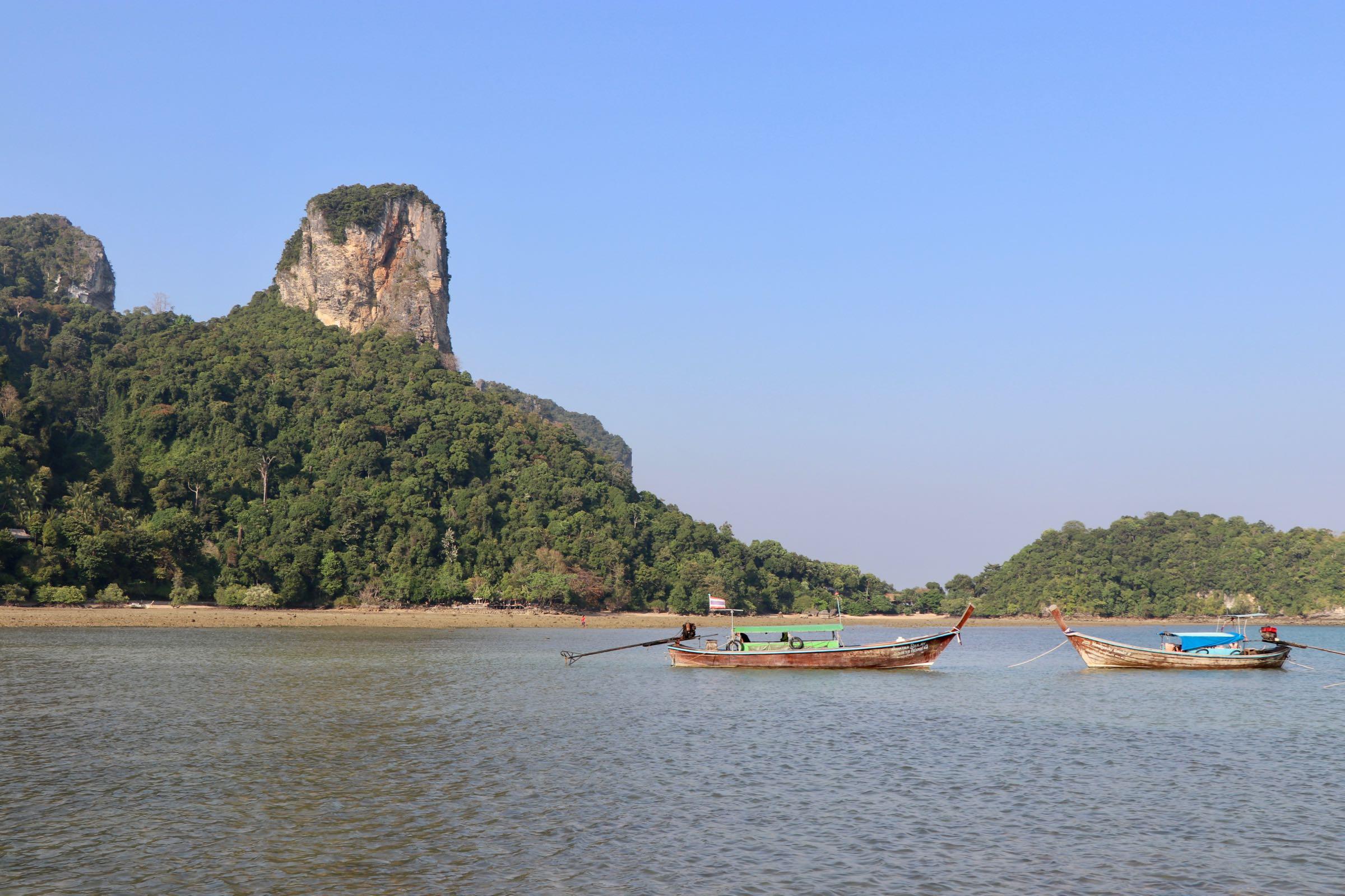 Bucht auf Rai Leh, Thailand