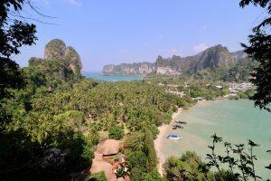 Blick über Rai Leh, Thailand