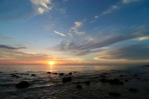 Sonnenuntergang auf Ko Lanta Yai, Thailand
