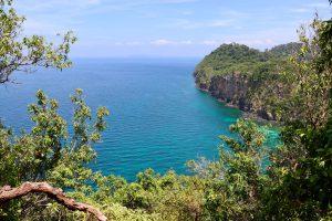 Blick über Ko Rok Nai, Thailand